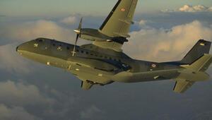 Türk askeri uçağı Rusya semalarında...