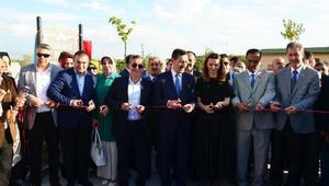 20 günde tamamlanan Karabağ Parkının açılışına yoğun ilgi