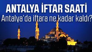 Antalya iftar vakti 2017 Antalyada iftar saat kaçta