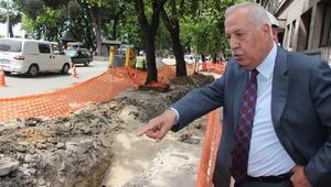 Başkan Akdemir, altyapı çalışmalarını inceledi