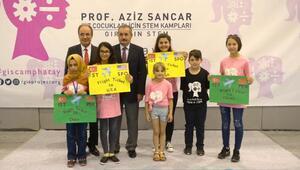 Nobel ödüllü Sancardan kız çocuklarına destek