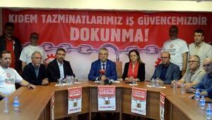Fotoğraflar // DİSK Başkanı Kani Bekodan kıdem tazminatı açıklaması