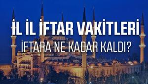 Ankarada bu akşam iftar saat kaçta açılacak Ankara 2017 Ramazan İmsakiyesi