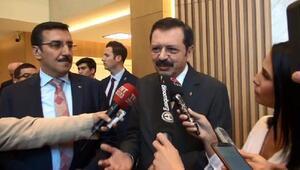 Bakan Tüfenkçiye soruldu,TOBB Başkanı açıkladı