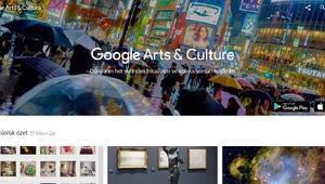 Google'dan sanatseverlere özel hizmet