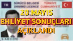 Ehliyet sonuçları sürücü adaylarıyla paylaşıldı 20 Mayıs ehliyet sınav sonuçları