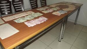 Seydişehirde sahte paradan 2 kişi gözaltında