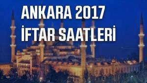Ankarada bu akşam iftar saat kaçta açılacak Ankara iftar çadırı listesi ve 2017 Ramazan imsakiyesi