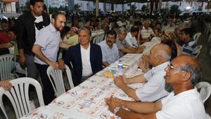 Başkan Uysal, vatandaşlarla iftarda buluştu
