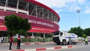 Eskişehirspor-Göztepe finali için Antalyada büyük önlem