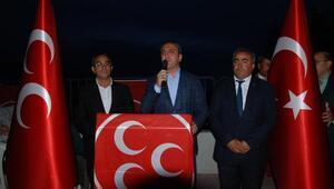 MHPnin Balâdaki iftar yemeğine 1200 kişi katıldı
