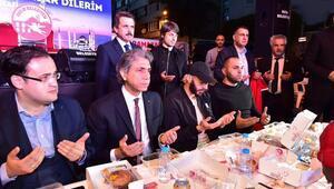 Benzema, Fatihte iftar yemeğine katıldı