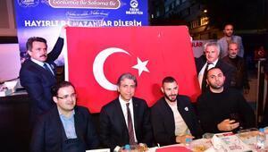 Karim Benzema iftar programına katıldı
