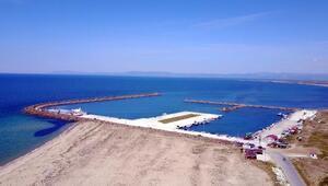 Araplar, Saros Körfezindeki Eneze Yat Limanı kuruyor