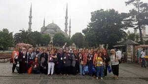 Edirneli kadınlar, İstanbulu gezdi
