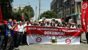 DİSK kıdem tazminatının fona devrine karşı çıktı