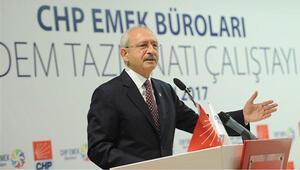 CHP'den Kıdem Tazminatı Çalıştayı'na ilişkin sonuç bildirgesi