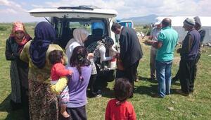 Seydişehirde tarım işçilerine sağlık taraması