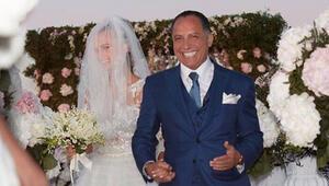 Kendinden 36 yaş büyük kocası ünlü modeli ilk evlilik yıl dönümünde yalnız kaldı
