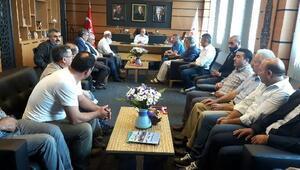 Erzurumlulardan Oral'a ziyaret