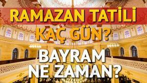 Ramazan Bayramı tatili kaç gün olacak 2017 Ramazan Bayramı ne zaman