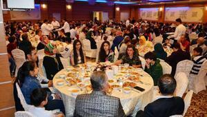 Şehit aileleri ile gazilerin iftar buluşması