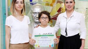 Sanko öğrencisi klavye şampiyonu