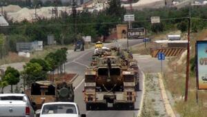 PYD denetimindeki Afrin sınırına tank sevkiyatı