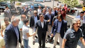 Eski başbakan Davutoğlu Alanyada
