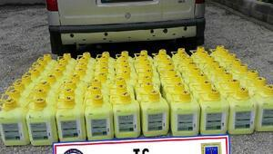 Keşan'da 500 litre kaçak tarım ilacı ele geçirildi