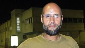 Kaddafinin oğlu Seyfülislam serbest bırakıldı