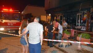 Marmaris'te yanan bar için turistler kampanya başlattı