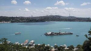 İstanbul Boğazındaki esrarengiz görüntünün sırrı