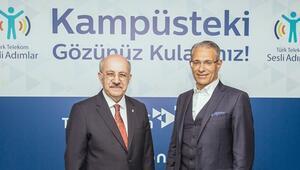 Türk Telekomun Sesli Adımlar Uygulaması İTÜ'de kullanıma sunuldu