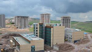 Pursaklar Devlet Hastanesinin yüzde 85i tamam