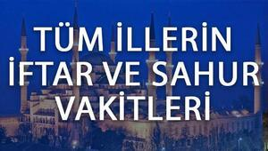 İstanbul, Ankara ve İzmirde iftar saat kaçta açılacak İşte il il iftar saatleri ve 2017 Ramazan imsakiyesi