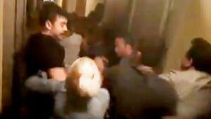 Marmaris'te ortalık karıştı Otel görevlileri ve turistler birbirine girdi