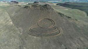 Kapadokyanın uzaydan görülen heykelleri ziyaretçilerini  bekliyor
