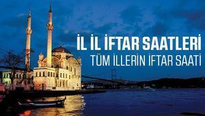 İstanbul, İzmir ve Ankarada iftar saat kaçta açılacak İl il iftar saati ve 2017 Ramazan imsakiyesi