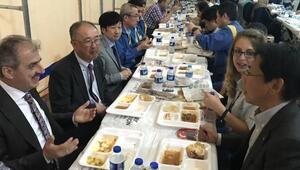 Japonlar Çankırılılarla iftar sofrasında buluştu