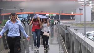 İstanbula yağmur sürprizi