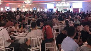 Ulu Cami'den bin 500 kişilik iftar yemeği