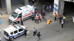 Otogarda feci ölüm 20 metreden düştü...