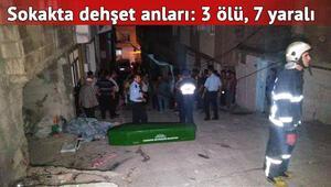 Minibüs, sokakta oturanları ezdi: 3 ölü, 7 yaralı