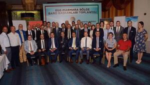 Ege ve Marmara baro başkanlarından özel rejim açıklaması
