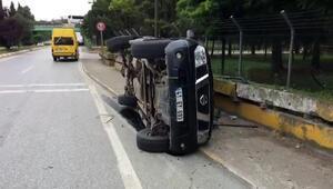 Sapancada trafik kazası: 1 yaralı