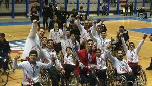 Bedensel Engelliler Basketbol U-23 Milli Takımı dünya ikincisi