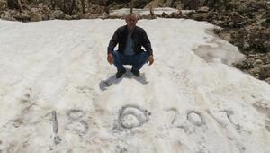 Aksekide Haziranda karla mücadele
