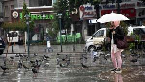 Çorluda yağmur etkili oldu, eğitim uçuşları iptal edildi