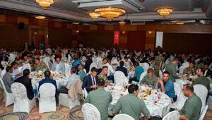 Vali Taşyapan, güvenlik korucularıyla birlikte iftar açtı